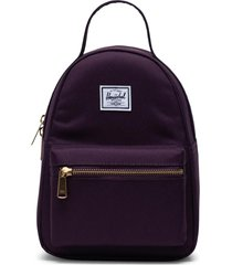 herschel supply co. mini nova backpack - burgundy