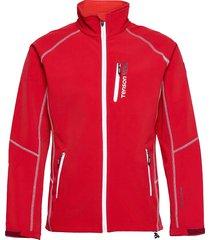 race softshell m outerwear sport jackets röd tenson