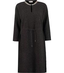 fabiana filippi adjustable drawstring knit dress