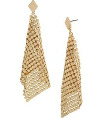 jessica simpson disco mesh kite earrings