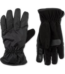 isotoner signature men's sleek heat sports gloves