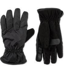 isotoner signature men's sleek heat sports gloves