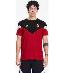 ac milan iconisch mcs t-shirt voor heren, rood, maat xs | puma