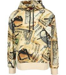fourtwofour on fairfax 424 dollar print hoodie