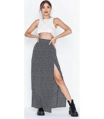 glamorous maxi slit skirt maxikjolar