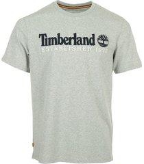 t-shirt korte mouw timberland outdoor heritage linear tee