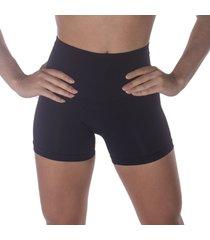 calcinha boxer redutora sem costura selene - preto - feminino - dafiti
