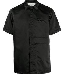 1017 alyx 9sm edge short-sleeved shirt - black