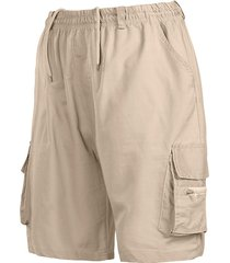 hombres summer mutil pockets shorts cargo vintage
