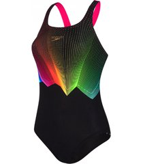speedo colour glow badpak dames / zwart