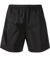 prada classic swim shorts - black