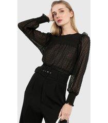 blusa negro ambiance