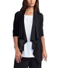 women's drape front sweater