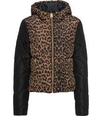 giacca con fantasia leopardata (beige) - rainbow