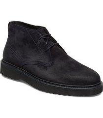 grizzly 3a desert boots snörskor svart marc o'polo footwear
