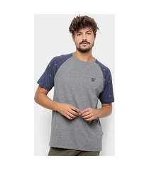camiseta dc shoes esp cresdee pocket masculina