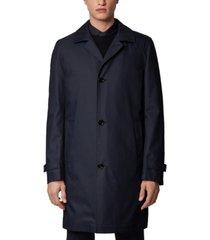 boss men's derrek3 dark blue jacket