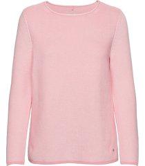 pullover long-sleeve gebreide trui roze gerry weber edition