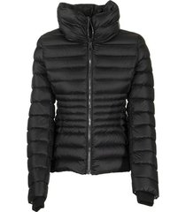 place down jacket with ring collar