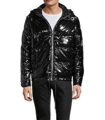 patent short puffer jacket