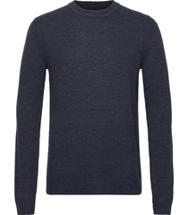 onshoward 7 soft crew neck knit stickad tröja m. rund krage blå only & sons