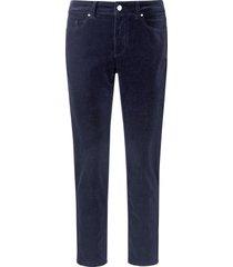 enkellange slim fit-broek in smal 5-pocketsmodel van day.like blauw