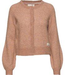 cool with wool cardigan stickad tröja cardigan brun odd molly