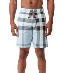men's burberry breton check board shorts