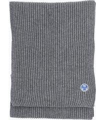 sciarpa in lana e cotone