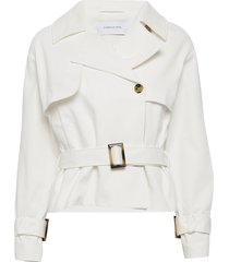 solitude jacket zomerjas dunne jas beige camilla pihl