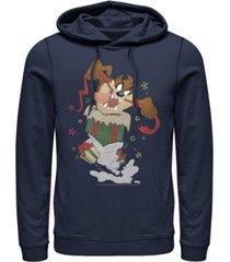 men's looney tunes ripping presents hoodie