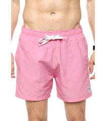 short de baño rosa boardwise liso