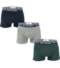 mens cullen 3 pack boxer shorts
