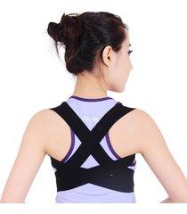 cintura per la correzione della postura supporto lombare correzione posteriore cinghie regolabili body shaping unisex