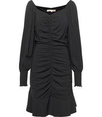 srmaggie dress jurk knielengte zwart soft rebels