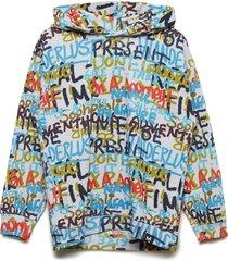 mino hoodie trui multi/patroon molo