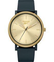 reloj  fran dorado reebok