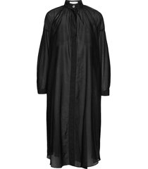 striped sheer caftan dresses shirt dresses svart cathrine hammel