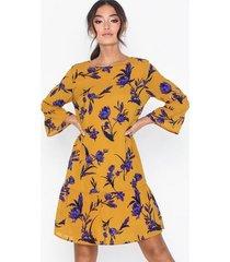 pieces pcbridget 3/4 dress loose fit dresses