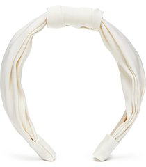 'fanny' knot fine stripe headband