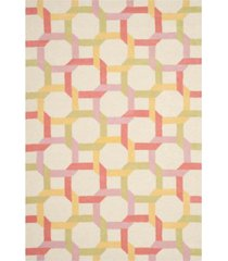 martha stewart collection color chain msr4563a multi 5' x 8' area rug