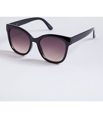 loft glam colorblock sunglasses