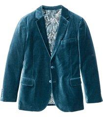 giacca elegante in velluto slim fit (petrolio) - rainbow
