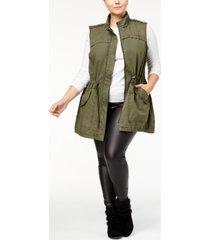 levi's trendy plus size cotton vest