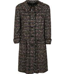 dolce & gabbana woven short coat