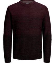 jack & jones men's essential crew neck long sleeve sweater