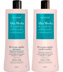 alta moda kit duo bb cream capilar,