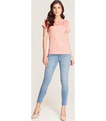 jeans skinny textil desgastado azul 12