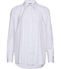 trip shirt overhemd met lange mouwen blauw hope