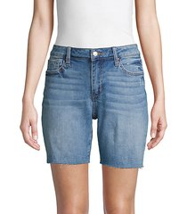bermuda denim cutoff shorts